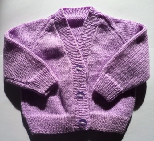 New Choice of sizes//colours Rainbow Knitted baby cardigan
