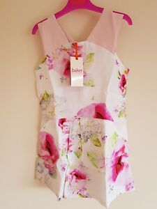 cf21cf84b5b14 Ted Baker Girls Floral Playsuit with sizes. BNWT Designer. Rrp ...