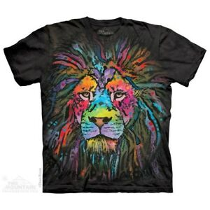 Mane-Lion-T-Shirt-by-The-Mountain-Big-Face-Tee-Sizes-S-5XL-NEW