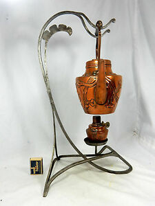 Selten schöne Jugendstil Tee Maschine / Art Nouveau  tea machine   unknown maker