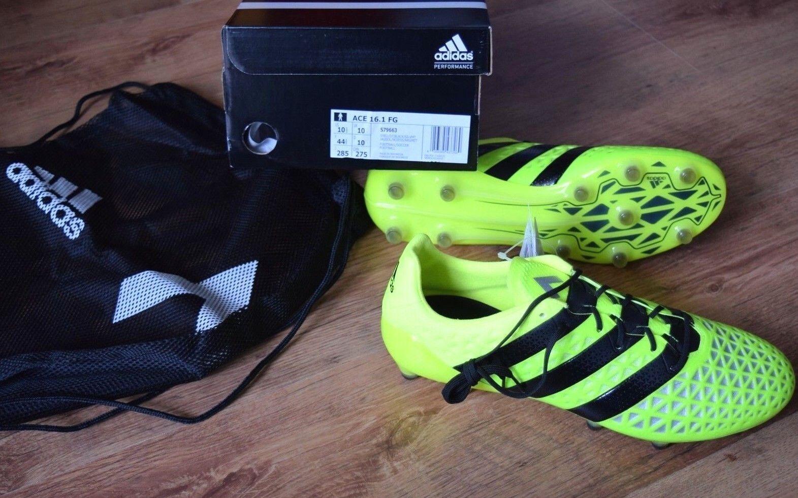 Adidas Ace 16.1 Fg 42,5 43 44 44,5 45 46 47 48 S79663 Sautope da Calcio Prossoator