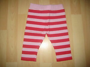 Baby-Girls-Aged-1-5-2-Years-Red-Pink-Leggings-by-Mini-Mode