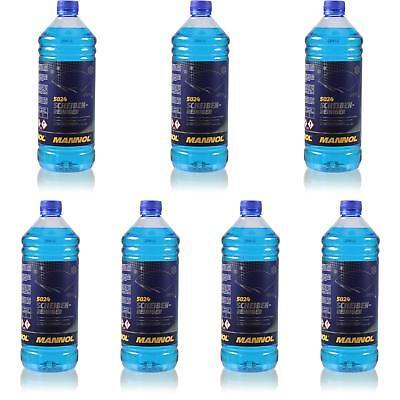 7x1 Litro Originale Mannol 5024 Dischi-detergente Per -70 ° C Antigelo Concentrato-ger -70 °c Frostschutz Konzentrat It-it