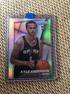 new product 007f5 a8564 Details about KYLE ANDERSON 14-15 PRIZM SILVER PRIZM ROOKIE RC SSP BGS PSA  READY GRIZZLIES!!