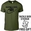 Fishing T Shirt T-Shirt Personalized Birthday Gift With Free Carp Sticker