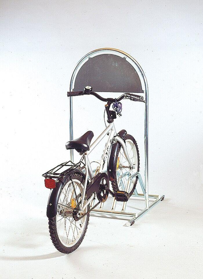 Gadeskilt med cykelholder  kr. 1480,- ex.moms