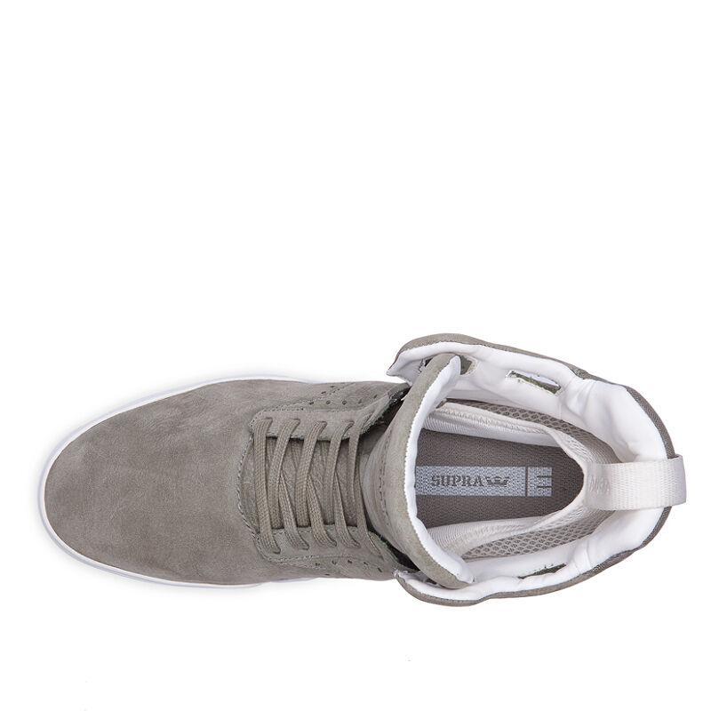SUPRA S99019 SKYTOP IV Mn's Mn's Mn's (M) Laurel/White Pelle Hi Top Skateboarding Shoes 49006a