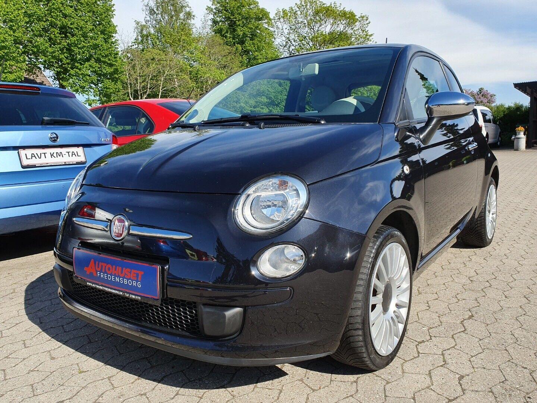 Fiat 500 1,2 Lounge 3d - 64.900 kr.