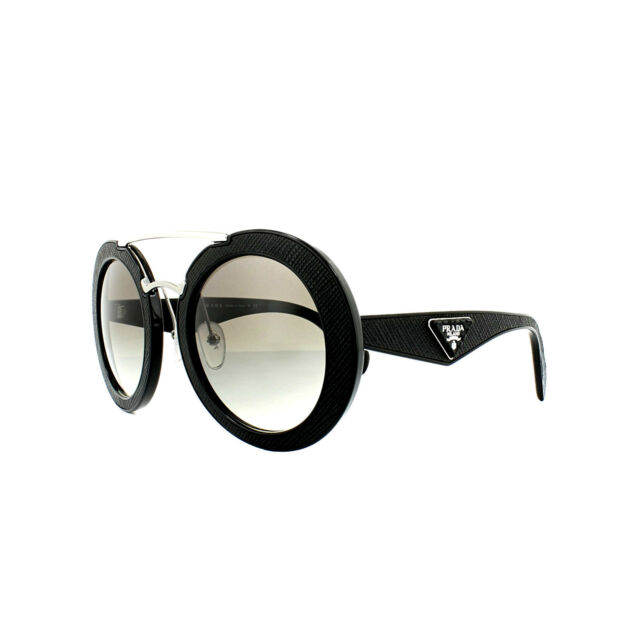 51d00f00e732 PRADA Sunglasses Pr15ss 1ab0a7 Black Grey Gradient for sale online ...