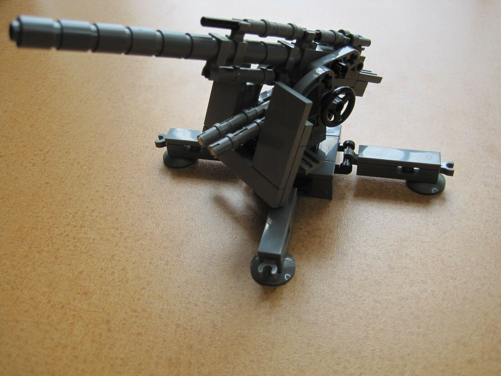 Lego WW2 GERMAN Cannon 88 mm AA Gun DK ANTITANK Artillery MINIFIGS NEW