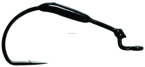 3 Pack Mustad KVD Grip-Pin Soft Plastics Forged Hook Bla 38101W18-4//0-3U NEW