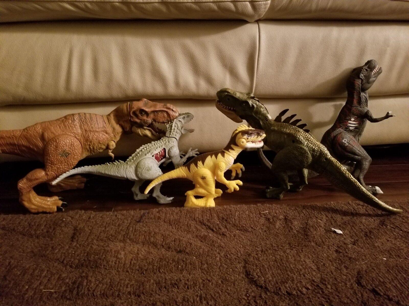Los 5 jurassic park  world dinosaurier t. rex versandkosten
