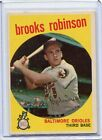 1959 Topps Baseball Card Brooks Robinson HOF Baltimore Orioles Near Mint # 439