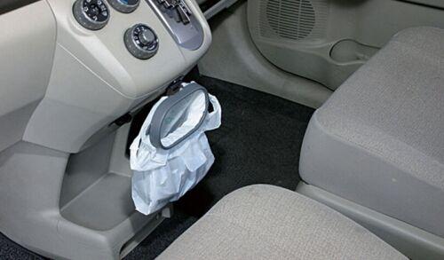 Car Trash Garbage Bag Sucker Trash Can Rack Novelty For Auto Hanger DB