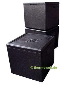 3-x-Profi-Thermobox-Isolierbox-Pizzabox-schwarz-33cm