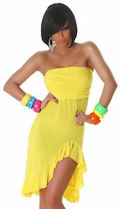 Bandeau-Minikleid Sommer Tanz Party Kleid Mode Latina neu ...