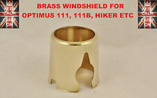 OPTIMUS STOVE BRASS WINDSHIELD FOR 111,111B,HIKER CAMPING STOVE PRIMUS STOVE