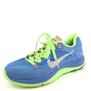 707ea478ab4e Image is loading Nike-Lunarglide-5-Blue-Athletic-Running-Shoes-Women-