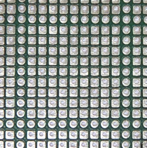 10 FR4 PCB board Double side KT-1811DXA 207x103x1.6mm 2.54mm 49x2p PCAT Slot 98P