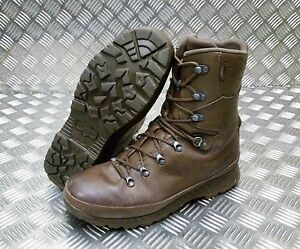 new selection official shop cheap for sale Details about Genuine British Army Haix Goretex Lined Leather Cold Weather  Combat Boots