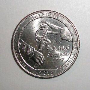 2015-US-Quarter-25-cents-National-Parks-Saratoga-New-York-coin