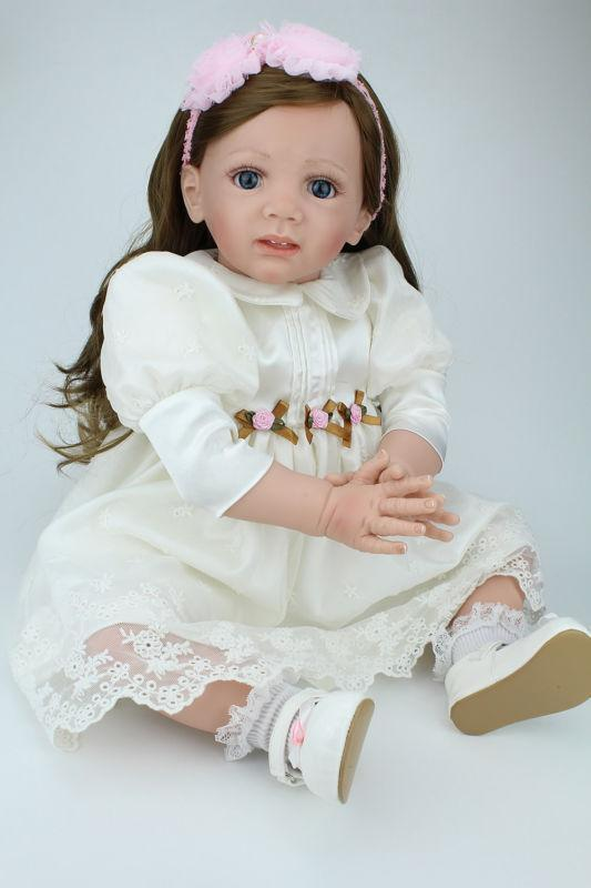 24  RINATO bambino Toddler Girl  Bambola Realistica Realizzata a uomoo falsi Babies Bambola Bambini Regalo  vendita online risparmia il 70%