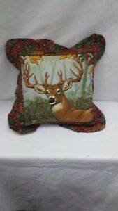 Buck-Deer-16-034-Throw-Pillow