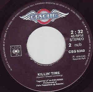 Single, gasolin, Killin Time, Rock, Gasolin 1978 Killin…