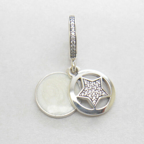 Authentic Friendship Star Sterling Silver Dangle Charm