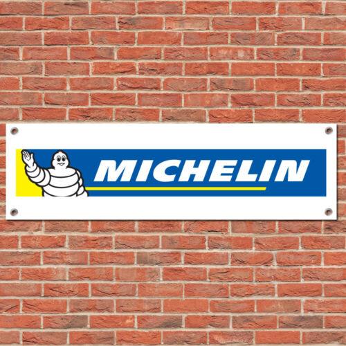 Michelin Tyres Tires Motorsport Car Racing Sign Garage Workshop Banner Display B