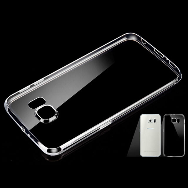 1X For Samsung S7 Edge Case Slim Crystal Clear TPU Silicone Protective Sleeve SL
