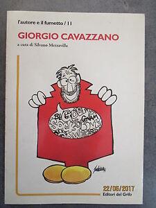 GIORGIO-CAVAZZANO-L-039-AUTORE-E-IL-FUMETTO-11-A-CURA-DI-SILVANO-MEZZAVILLA