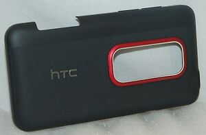 HTC-Evo-3D-Phone-BLACK-Battery-OEM-Cover-Replacement-Door-rear-back-G17-X515