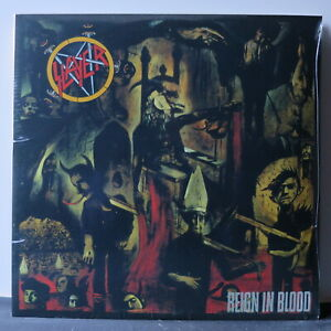 SLAYER-039-Reign-In-Blood-039-Vinyl-LP-NEW-SEALED