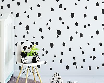 165 Hand Drawn Polka Dots Irregular Spots Modern Wall Decal Vinyl Stickers