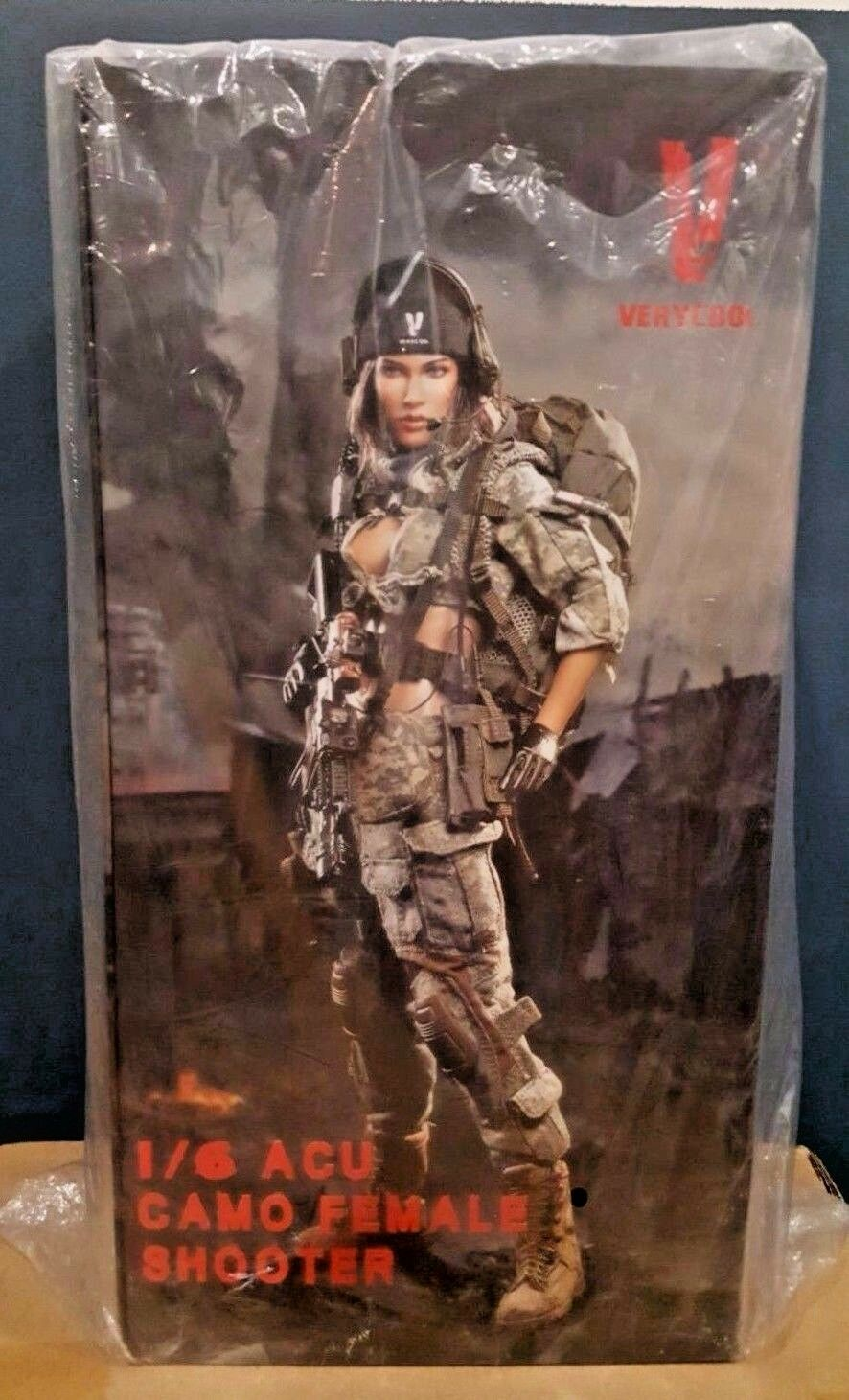 1 6 Verycool VCF2026 ACU Camo Woman Shooter Female Action Figure New Model