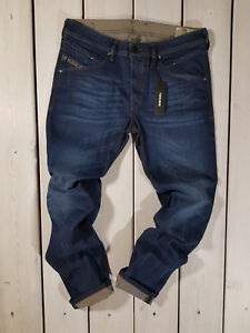 Rrp-280-Nuovo-Jeans-Diesel-Uomo-Belther-0848V-Regular-Slim-Tapered-Stretch