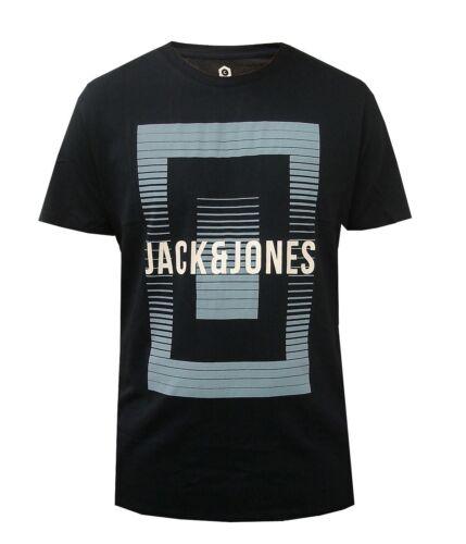 JACK/&JONES MENS COTTON SLIM FIT T-SHIRT SIZES S-XXL T SHIRT