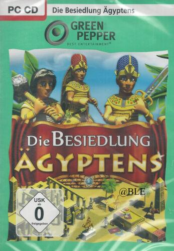 1 von 1 - PC CD + Die Besiedlung Ägyptens + Time Management + Aufbau + Handel + Win 8