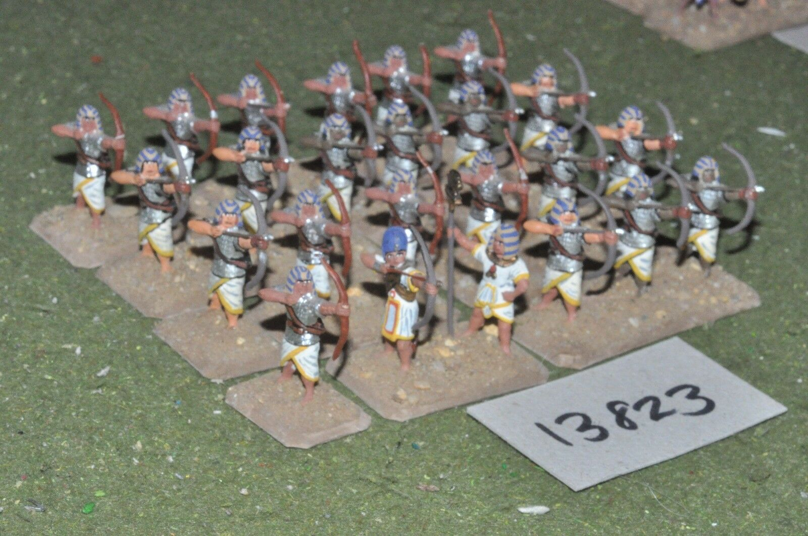 25mm biblical   egyptian - archers 24 figures - inf (13823)