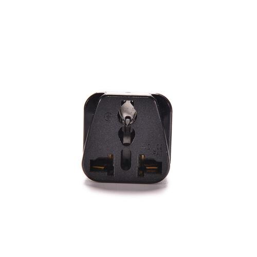 Chic IEC 320 PDU UPS C14 Plug To Universal Female Socket Power Adapter Converter