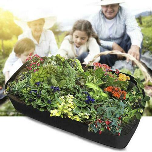 Fabric Large Grow Bag Raised Planter Outdoor Garden Vegetable Tomato Pot FA1