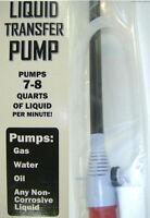 Electric Siphon Pump, Drain Sink Boat Car Aquarium Water Gas, Battery Operated
