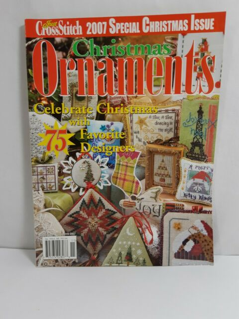 Just Cross Stitch Magazine Christmas 2007 Ornaments