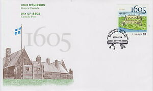 CANADA-2115-50-PORT-ROYAL-1605-2005-FIRST-DAY-COVER