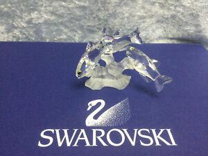 Swarovski Crystal Three South Sea Fish 7644057000 171709. Retired 1998. MIB