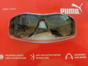 4dc3b4ec665 Image is loading FACTORY-SEALED-PUMA-WRAP-AROUND-SPORT-SUNGLASSES-GLOSS-