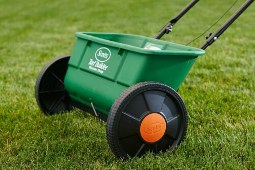 Details about  /Scotts 76565 Turf Builder Classic Drop Spreader 10m