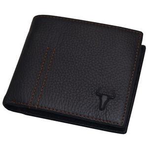 Handmade-Mens-Wallet-Leather-Credit-Card-Wallets-Coin-Zipper-Pocket-Black-colour