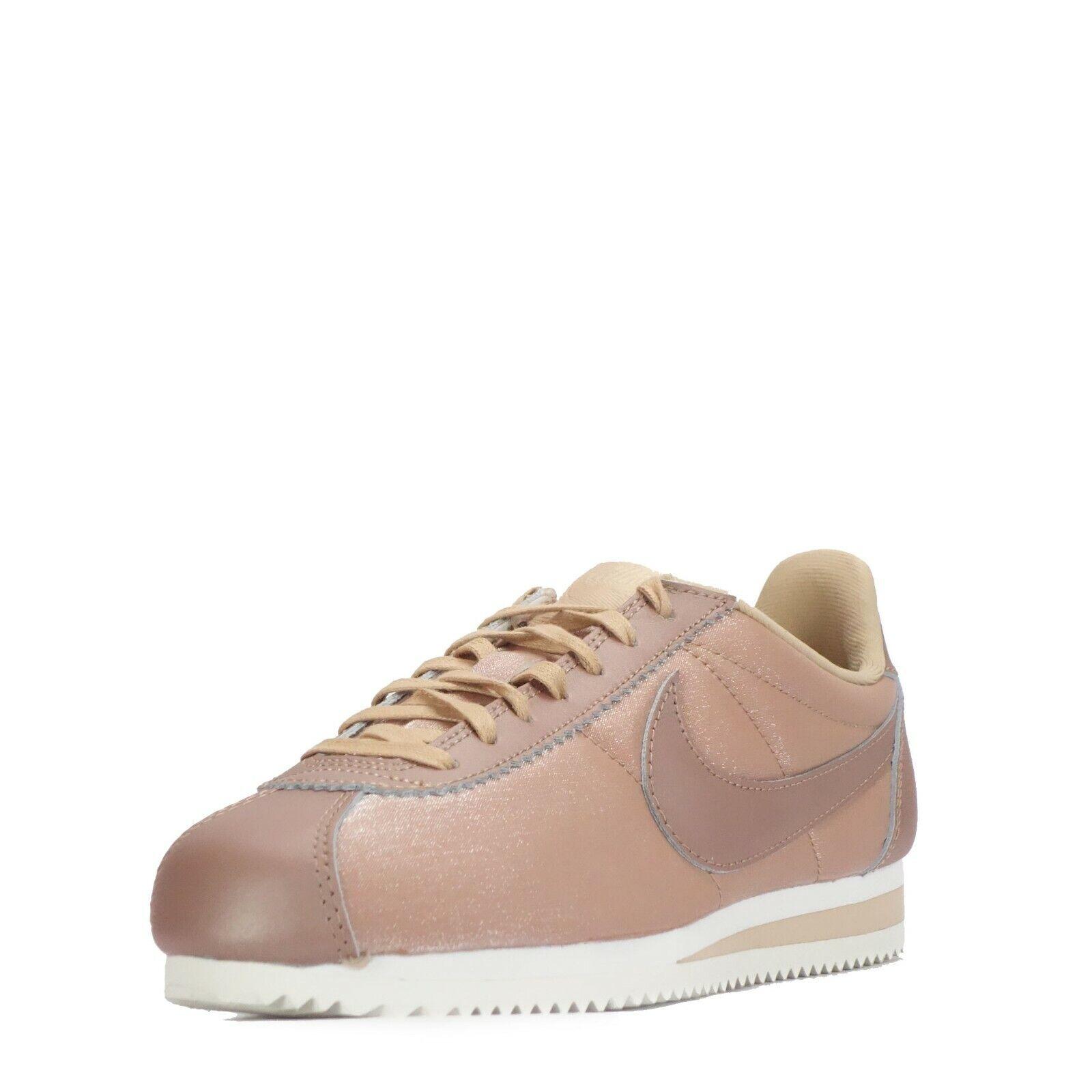 Nike Nike Nike Classic Cortez Premium Para Mujer Zapatillas Bronce Metálico d538ce
